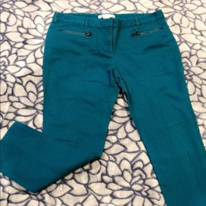 Kenneth Cole teal skinny